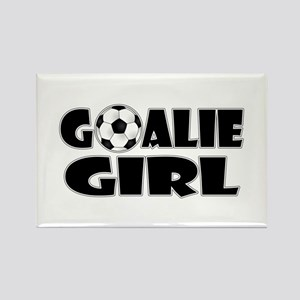 Goalie Girl - Soccer Magnets