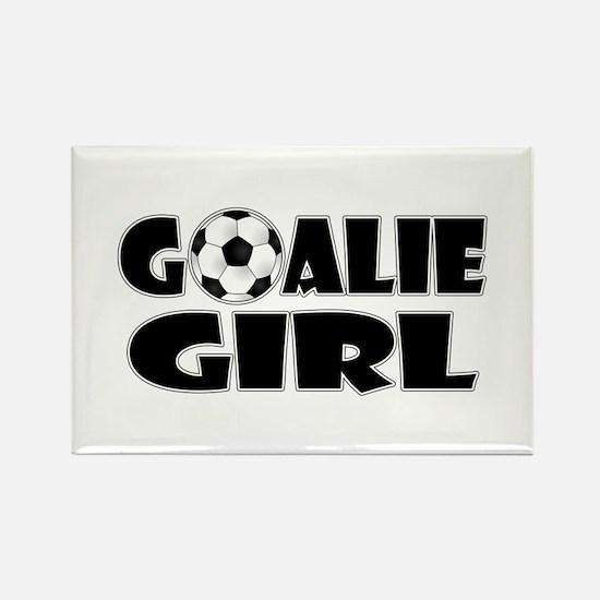 Goalie Girl - Soccer Magnets