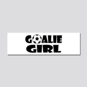 Goalie Girl - Soccer Car Magnet 10 x 3