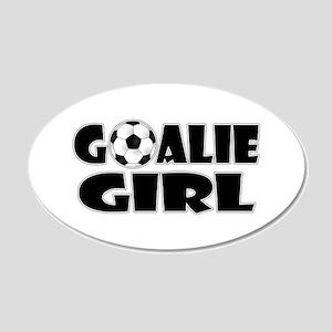 Goalie Girl - Soccer Wall Decal
