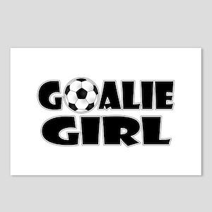 Goalie Girl - Soccer Postcards (Package of 8)