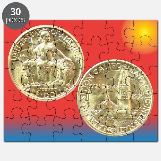California Pacific Expo Coin Puzzle