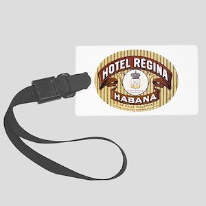 Hotel Regina Habana Large Luggage Tag