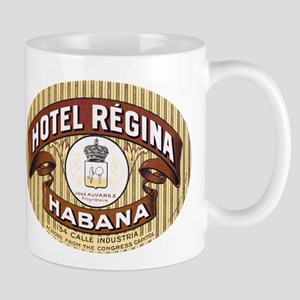 Hotel Regina Habana Mugs