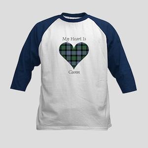 Heart - Gunn Kids Baseball Jersey