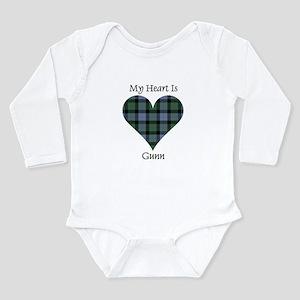 Heart - Gunn Long Sleeve Infant Bodysuit
