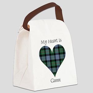 Heart - Gunn Canvas Lunch Bag