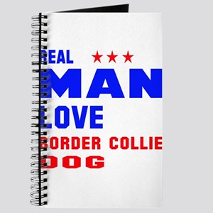 Real Man Love Border Collie Dog Journal