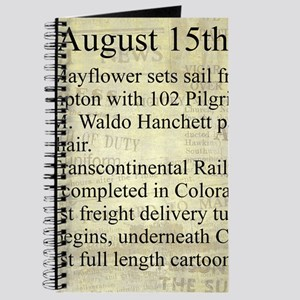 August 15th Journal