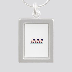 Synchronized Swimming Girls Necklaces