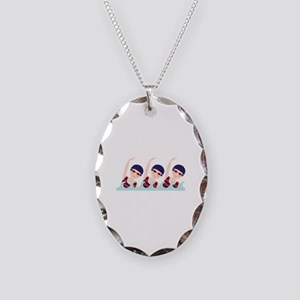 Synchronized Swimming Girls Necklace