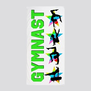 Inspiring Gymnast Beach Towel