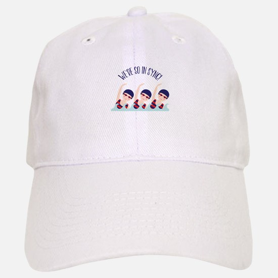 Were So in Sync Baseball Baseball Baseball Cap