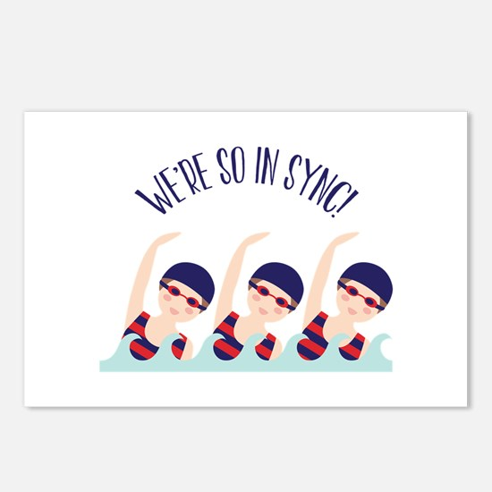 Were So in Sync Postcards (Package of 8)
