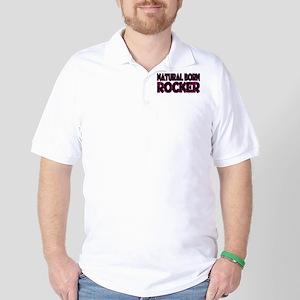 Natural Born Rocker Golf Shirt