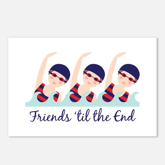 Friends til the End Postcards (Package of 8)