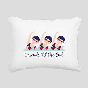 Friends til the End Rectangular Canvas Pillow