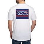 Catholic for Kerry Tee with Kerry/Edwards logo