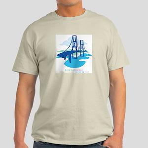 Mackinac Bridge2 Light T-Shirt