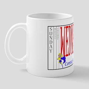 Wednesday Comic Book Day! Mug