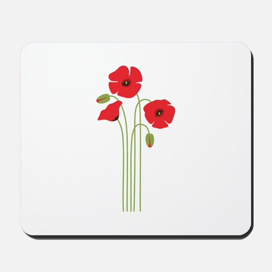 Poppy Flower Mousepad