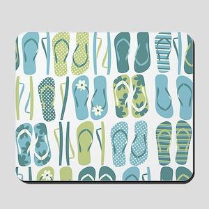 Flip Flops Pattern Mousepad