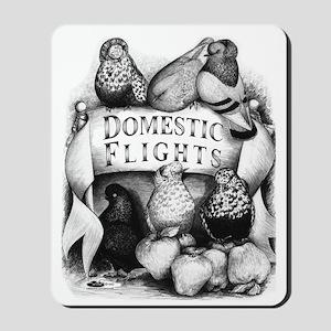 Big Apple Flight Pigeons Mousepad