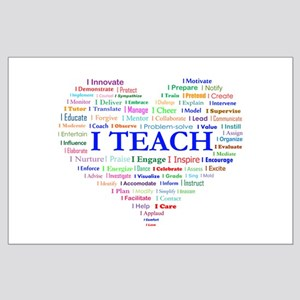 Big Hearted Teacher Posters