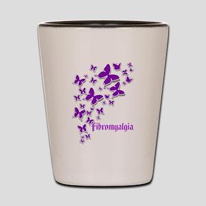 FIBROMYALGIA BUTTERFLIES 2 Shot Glass