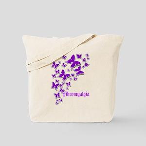 FIBROMYALGIA BUTTERFLIES 2 Tote Bag