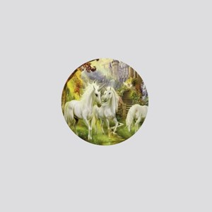 Beautiful Unicorns Mini Button