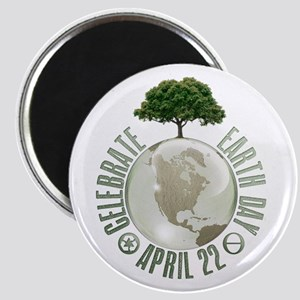 Celebrate Earth Day - April 22 Magnets
