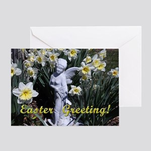 Easter angel Greeting Cards