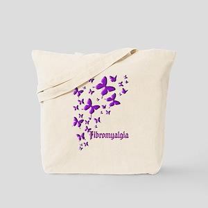 FIBROMYALGIA BUTTERFLIES Tote Bag