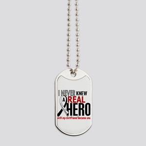 Carcinoid Cancer Real Hero 2 Dog Tags