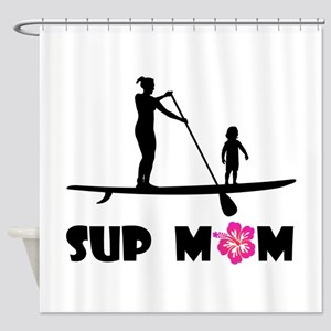 SUP_MOM Shower Curtain