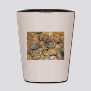 Clams Shot Glass