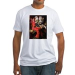 Lady & Cavalier (BT) Fitted T-Shirt
