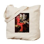 Lady & Cavalier (BT) Tote Bag