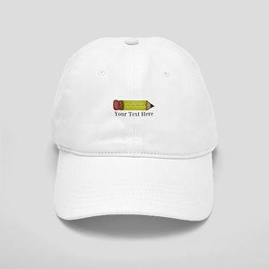 Personalizable Pencil Baseball Cap