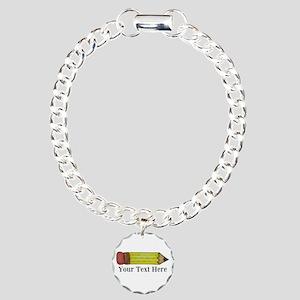 Personalizable Pencil Bracelet