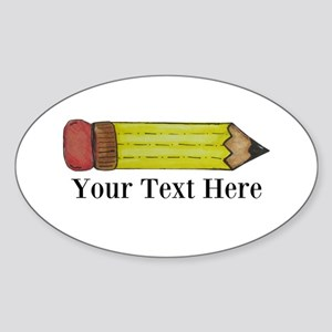 Personalizable Pencil Sticker