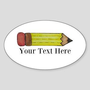 Personalizable Pencil Sticker