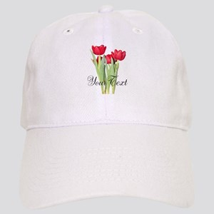 Personalizable Tulips Baseball Cap