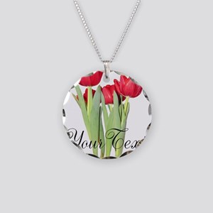 Personalizable Tulips Necklace