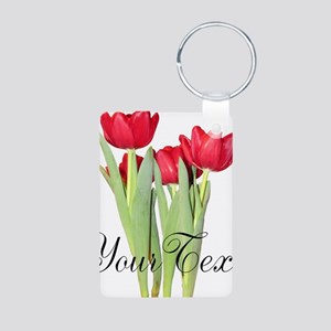 Personalizable Tulips Keychains