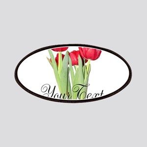 Personalizable Tulips Patches