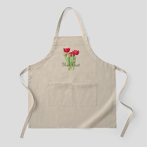 Personalizable Tulips Apron
