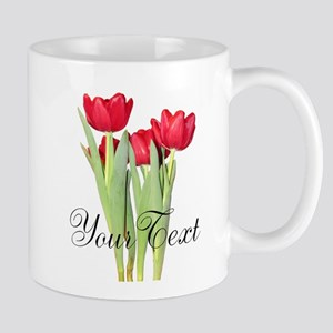 Personalizable Tulips Mugs