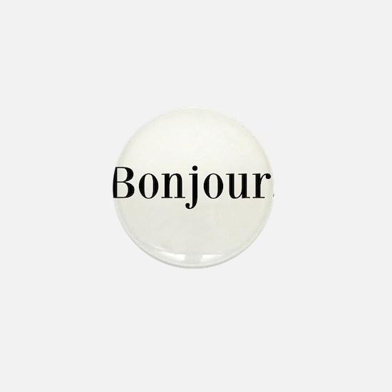 Bonjour Mini Button
